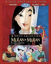 Mulan / Mulan II (3-Disc Special Edition) [Blu-ray / DVD]