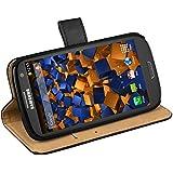 mumbi Tasche im Bookstyle für Samsung Galaxy S3 i9300 / S3 Neo Tasche schwarz