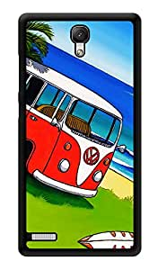 """Humor Gang Travel Mini Vw Van Printed Designer Mobile Back Cover For """"Xiaomi Redmi Note - Xiaomi Redmi Note 4G"""" (3D, Glossy, Premium Quality Snap On Case)"""