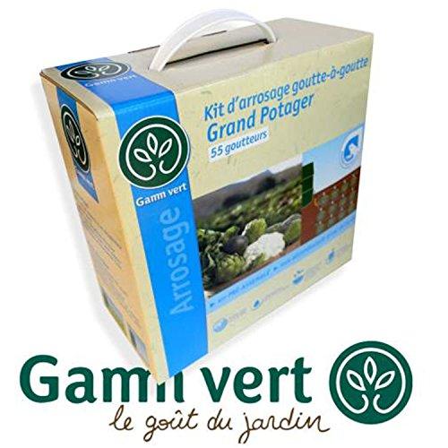 S2 / GAMM VERT* Kit d'Arrosage 55 Goutteurs Goutte à Goutte Grand...
