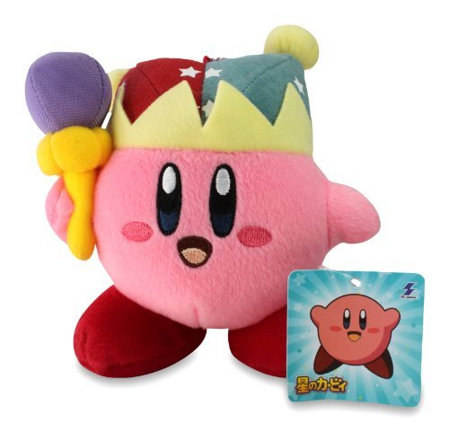 Kirby Mini Plush Doll with Ball Chain - 5.5