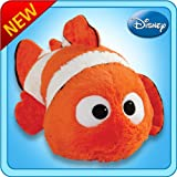 "Pillow Pets Authentic Disney 18"" Nemo, Folding Plush Pillow- Large"