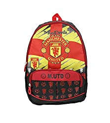 Shopaholic Red Devils Famous Football Club Featured Bag-Pack To Store Your Valuables- 74079920