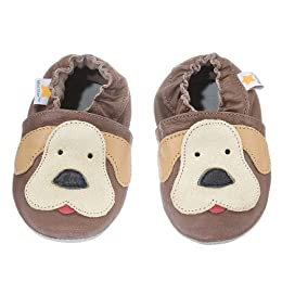 Product Image Ministar Baby Shoes - Tan Dog