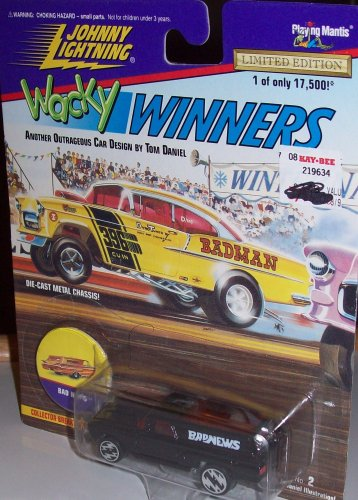 JOHNNY LIGHTNING WACKY WINNERS BAD NEWS 1:64 Scale