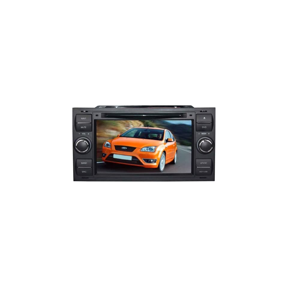 Tyso For Ford Focus (year 2005 2006 2007) 7 inch Indash CAR DVD Player GPS Navigation Navi iPod Bluetooth HD Touchscreen TV Radio RDS FM PIP Free Map CDA140