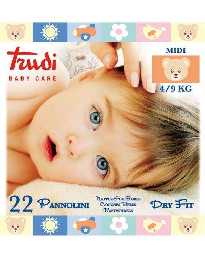 TRUDI BABY C PANNOLINI MIDI4/9