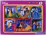 Disney Princess: Super Colour 30 Piece Puzzle In A Frame - Princess and her Prince
