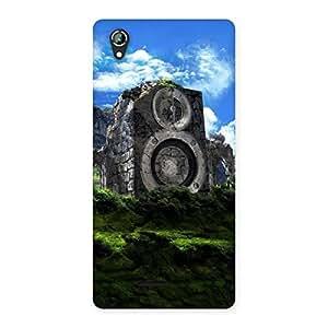 Cute Mountain Range Speaker Back Case Cover for Lava Iris 800