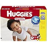 Huggies Snug and Dry Diapers, Step 5, Economy Plus, 172-Count