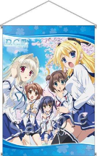 D.C.III (アニメ) タペストリー 「ヒロイン集合」