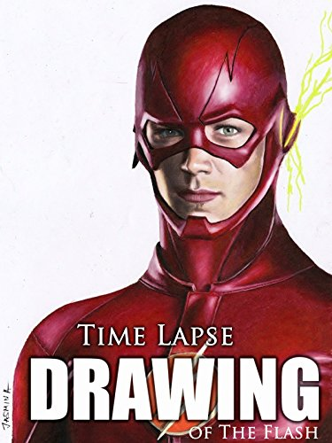 time-lapse-drawing-of-the-flash