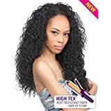 Outre Quick Weave Synthetic Half Wig - Peruvian-1B (Color: 1B, Tamaño: Long)