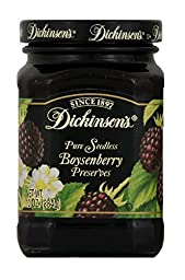 Dickinson\'s Preserves, Sdls Bysnbry, 10-Ounce (Pack of 6)