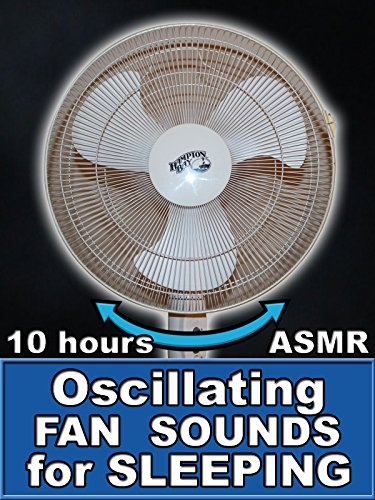 Oscillating Fan Sounds for Sleeping 10 Hours ASMR