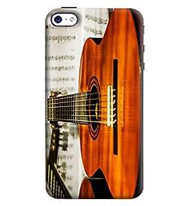 Blue Throat Guitar Printed Designer Back Cover/Case For Apple iPhone 4
