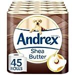 Andrex Shea Butter Toilet Tissue - 45...