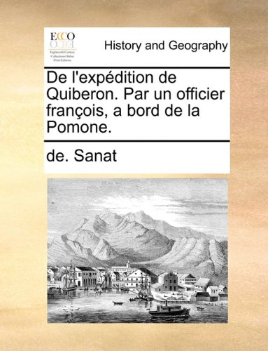 De l'expédition de Quiberon. Par un officier françois, a bord de la Pomone.