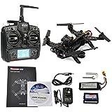 Walkera Runner 250 Racing Drone RTF with Devo 7 -FPV Camera -Video Transmitter - OSD -Rotorlogic Working Pad
