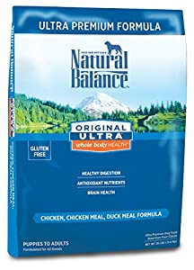 Natural Balance Dry Dog Food, Ultra Premium Formula, 30 Pound Bag