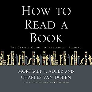 How to Read a Book Audiobook