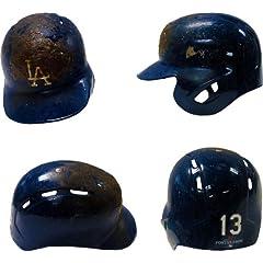 Hanley Ramirez Unsigned Game Used Los Angeles Dodgers Batting Helmet