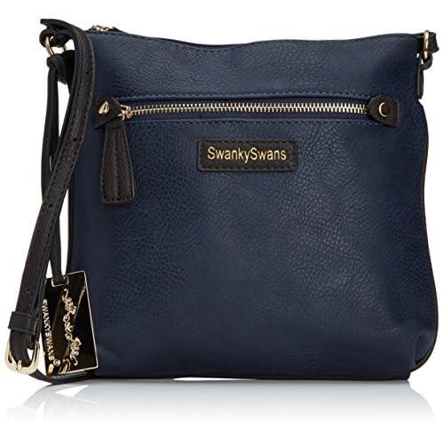 SwankySwans Womens Claire Side Cross-Body Bag