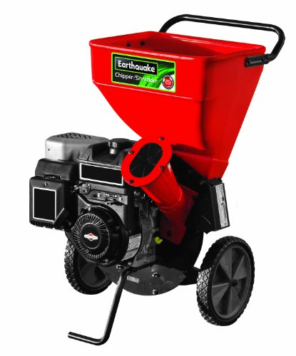 For Sale! Earthquake 9060300 Chipper Shredder with 205cc 4-Cycle Briggs and Stratton Engine