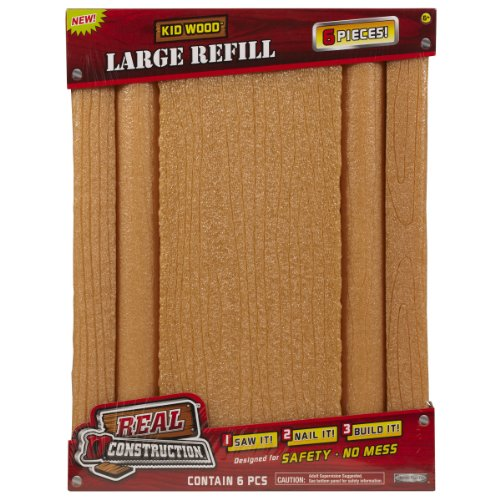 Real Construction Refills- Bundle Pack (6 In 1) Larger Pieces - 1