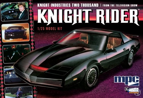 MPC Knight Rider 1982Pontiac Firebird modello Kit