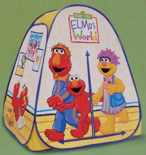 Playhut Sesame Street Elmou0027s Elmos World Hideaway Pop Up Tent |Sesame Street | Reviews  sc 1 st  Playhut For Sale & Playhut For Sale: Playhut Sesame Street Elmou0027s Elmos World ...