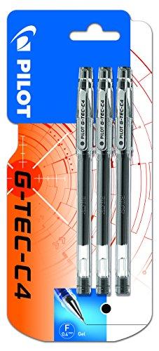pilot-g-tec-c4-boligrafo-roller-de-gel-3-unidades-color-negro