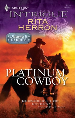 Platinum Cowboy (Harlequin Intrigue Series), RITA HERRON