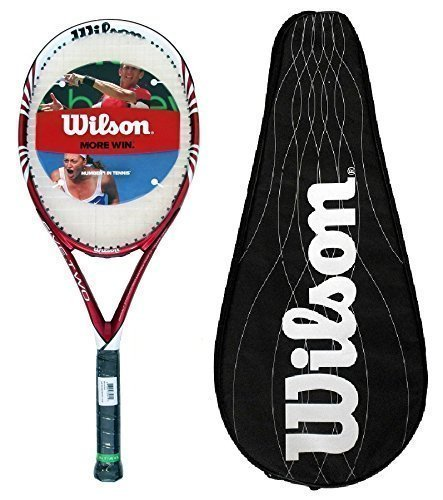 Wilson - Racchetta da tennis Five Two BLX, manico L3, custodia inclusa