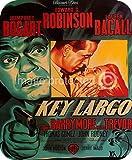 Key Largo Humphrey Bogart Vintage Movie Mousepad