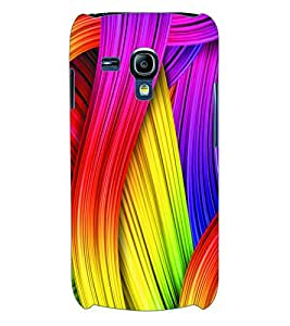 ColourCraft Coloured Pattern Back Case Cover for SAMSUNG GALAXY S3 MINI I8190