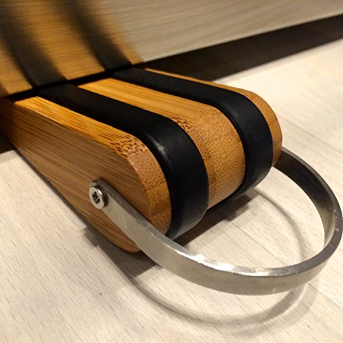Sleekstopper Sw 041b Decorative Bamboo Door Stopper With