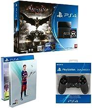 Pack PlayStation 4 500 Go + Batman Arkham Knight + Fifa 16 + Steelbook + 2ème Manette PS4 Dual Shock 4