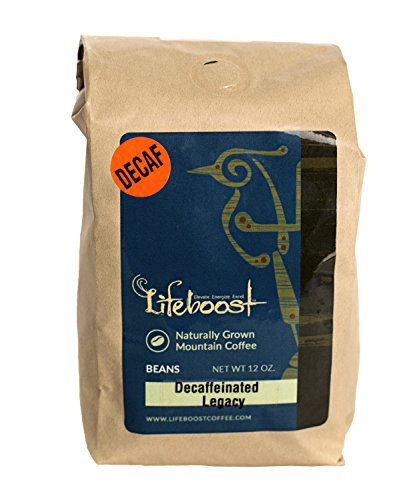LifeBoost Organic Decaf Coffee Beans - Premium Fair Trade Single Origin Nicaragua Coffee Beans - 12 oz Bean Medium Decaf (Mexican Decaf Coffee K Cup compare prices)