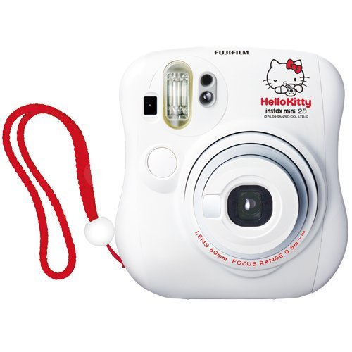 Fujifilm Instax Mini 25 Hello Kitty Instant Camera fuji