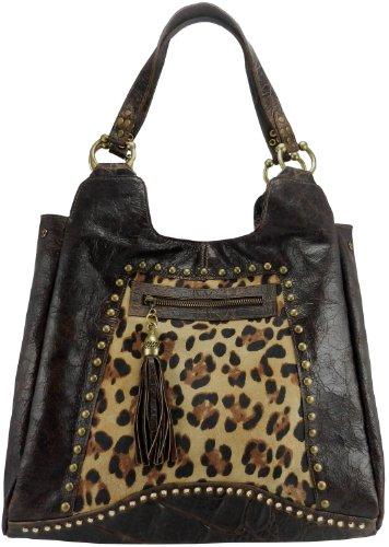 Leatherock Slouch Hobo Bag