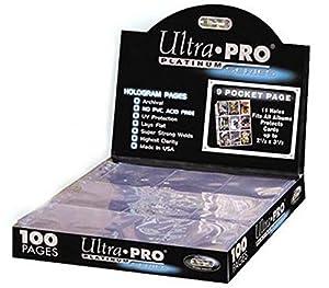 Ultra Pro 150084 - Platinum Pages 9-Pocket