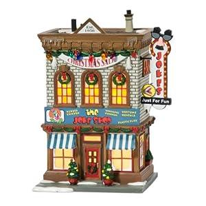 Story Village Lit Miniature Building, Joke Shop: Home & Kitchen