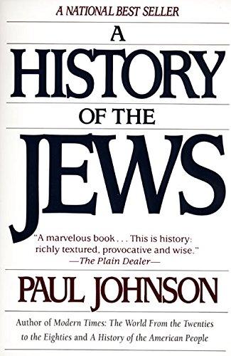 JOHNSON R, HISTORY OF THE JEWS (PB)