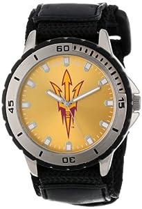 Game Time Mens COL-VET-ASU Veteran Custom Arizona State U Veteran Series Watch by Game Time