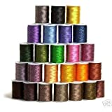 25 Spools TWIST/ TWEED Embroidery Machine Thread