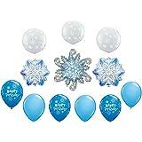 Frozen Winter Snowflakes Party Balloon Decoration Set