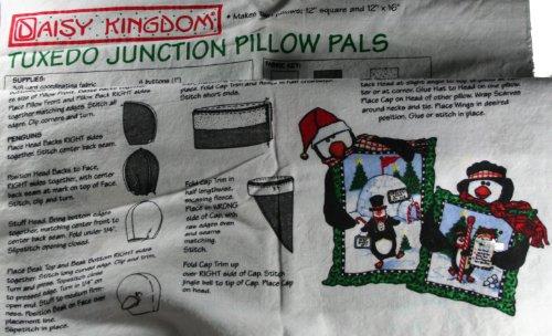 Daisy Kingdom Tuxedo Junction Pillow Pals Fabric Panel