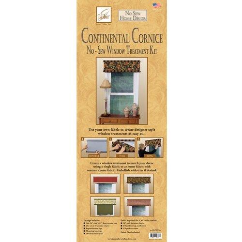June Tailor Continental Cornice No Sew Diy Window