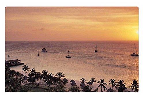 irocket-indoor-floor-rug-mat-radisson-resort-on-aruba-at-sunset-236-x-157-inches